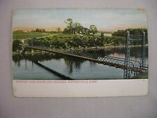 VINTAGE POSTCARD OF THE COUNTRY CLUB HOUSE & GROUNDS IN WHITNEYVILLE, CT UDB