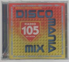 DISCOMANIA DISCO MANIA MIX RADIO 105 CD F.C. SIGILLATO!!!