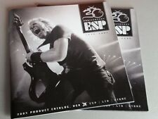 ESP Guitars 2005 Electric Bass Sales Catalog 30th Anniversary 68 Pages WORLDWIDE