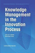 Knowledge Management in the Innovation Process 24 (2012, Paperback)