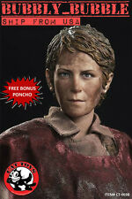 1/6 Carol Peletier Head Sculpt The Walking Dead For Hot Toys SHIP FROM USA