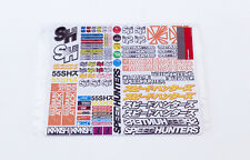 SPEEDHUNTERS RC CAR STICKER SHEET - #2 FOR 1/10 SCALE RC SHELLS * OFFICIAL MERCH