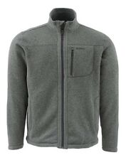 Simms RIVERSHED Sweater Full Zip ~ Dark Shadow NEW ~ Size Small ~ CLOSEOUT