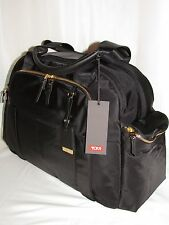 Tumi Voyageur Vallarta Black Gold Carry-on Bag Carry-All Tote Laptop Mansion sz