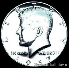 1967 SMS Kennedy Half Dollar 40% Silver U.S. Coin from Original SMS Set