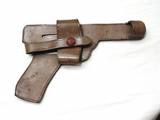 WW2 GERMANY LUFTWAFFE PARATROOPER LUGER P08 OPEN PISTOL GUN LEATHER HOLSTER WWII