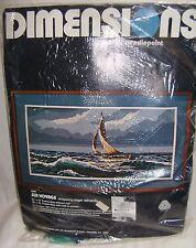 "Dimensions Needlepoint ""Sea Voyage"" Kit"
