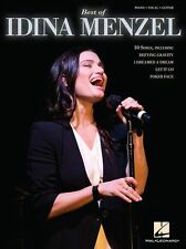 Best Of Idina Menzel POKER FACE No Good Deed Songs PIANO GUITAR PVG Music Book