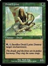 MTG Magic ODY FOIL - Druid Lyrist/Lyriste druide, English/VO