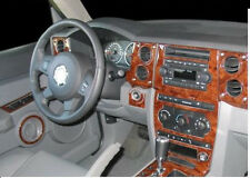 JEEP COMMANDER BASE SPORT LIMITED INTERIOR BURL WOOD DASH TRIM KIT SET 2006 2007