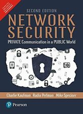 Network Security: PRIVATE Communication in a PUBLIC World, 2/e by Kaufman