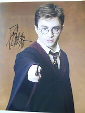 HARRY POTTER personally signed 14x11 - DANIEL RADCLIFFE as Harry