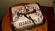 Ouija Board Purse GYPSY WITCH Occult Vintage game box purse WICCA SPIRITS gift