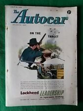AUTOCAR - JULY 10 1953 - CHRYSLER NEW YORKER TEST