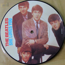 NEW! THE BEATLES SHE LOVES YOU 20TH ANNIVERSARY Vinyl Picture Disc