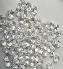(100 PIECES) Faceted 14mm CRYSTAL for Fengshui / Car / Window / Chandelier
