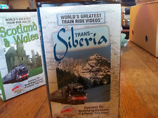 World's Greatest Train Ride Videos - 2 VHS Videotapes