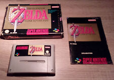 Super Nintendo SNES // Legend of Zelda - A Link to the Past +OVP +Anl.// PAL CIB
