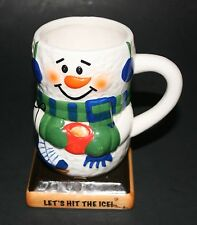 """S'mores Snowman Mug """"LET'S HIT THE ICE!"""" By Bay Island Inc."""