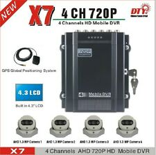 DTY X7N 4ch Full HD 720p AHD vehicle recorder mobile dvr