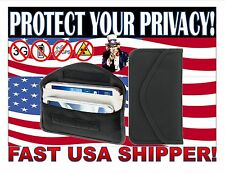 Cell Phone Anti Spy Blocker Pouch. Stop Cell Phone GPS RFID Tracking & Bugging