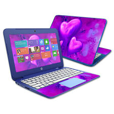"Skin Decal Wrap for HP Stream 11"" Laptop cover sticker Purple Heart"