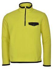 $145 Nwt Polo Ralph Lauren Neon Yellow Half 1/2 Zip Mockneck Fleece Sweater XXL