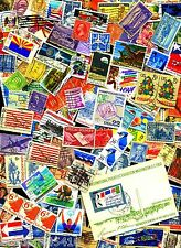100+ US STAMPS OFF Paper Commems, Pictorials, Defins, Airmail Now FREE Shipping!