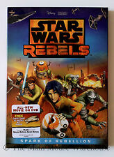 New Star Wars Series Rebels Spark of Rebellion on DVD English French Spanish
