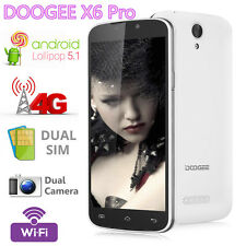 "Original 5.5"" DOOGEE X6 Pro 4G LTE Cell SmartPhone Android 5.1 16GB+2GB Dual Sim"