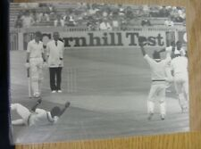 30/07/1984 Cricket Photograph: England v West Indies [At Old Trafford] Spinner H