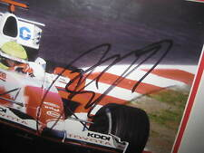 Ralph Schumacher signed 2005 F1 Photo (8x10) framed + COA & Photo proof