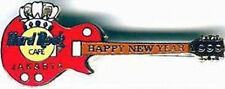 Hard Rock Cafe JAKARTA 1999 HAPPY NEW YEAR Red Guitar PIN