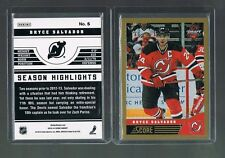2013/14 National convention VIP Score NHL Draft Hockey BRYCE SALVADOR #5  Devils