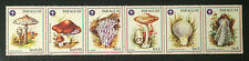 PARAGUAY 1986**   5er Strip   Pfadfinder/Scouts  Pilze/Mushrooms   MNH
