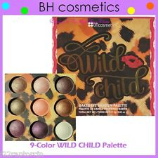 NEW BH Cosmetics 9-Color WILD CHILD Baked Eye Shadow Palette FREE SHIPPING BNIB