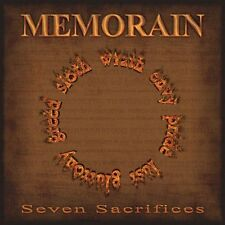 "Memorain ""Seven Sacrifices"" CD [SPEED THRASH METAL FROM GREECE]"