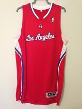 Adidas Los Angeles Clippers Authentic Red/White NBA Game Jersey 3XL+2