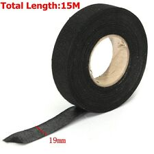 19mmx 15M Car Auto Hot Adhesive Cloth Fabric Tape Cable Looms Wiring Harness