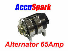 Accuspark 65Amp Chrome 18ACR Alternator MG,Triumph,Ford,Reliant,Mini + Many more