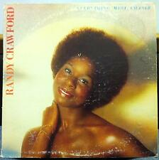 RANDY CRAWFORD everything must change LP VG+ BS 2975 Vinyl 1976 Record
