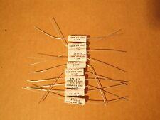 10 Ea Sprague .068uF 630V  5% 730P audio metallized polypropylene capacitor