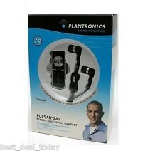 Plantronics Pulsar 260 Stereo Earbuds Bluetooth Headset