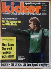 KICKER 38 - 7.5. 1979 Wolfgang Kneib Darmstadt-Bayern 1:3 Düsseldorf-Schalke 3:1