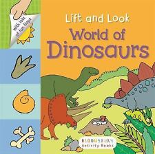 World of Dinosaurs by Bloomsbury (2016, Board Book)