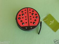 Kate Spade TURN OVER A NEW LEAF LADYBUG COIN PURSE WALLET  NWT