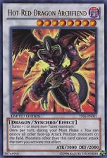 YUGIOH • Arcidemone Drago Rosso Hot Red Dragon Archfiend ULTRA PROMO YF06-EN001
