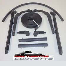 1963 - 1967 Corvette Convertible Top Weatherstrip Kit. Made in USA