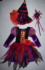 THE CHILDREN'S PLACE TCP PRETTY WITCH COSTUME WITH HAT & WAND 3 4 HALLOWEEN