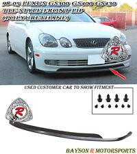 TTE-Style Front Lip (Urethane) Fits 98-05 Lexus GS300/GS400/GS430